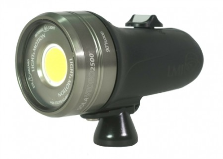 2500 Lumens Underwater Video Light
