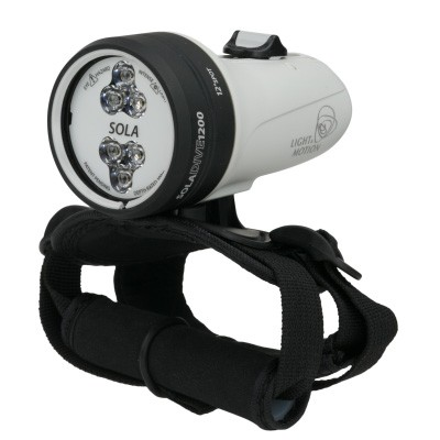 1200 Lumens Underwater Dive Light