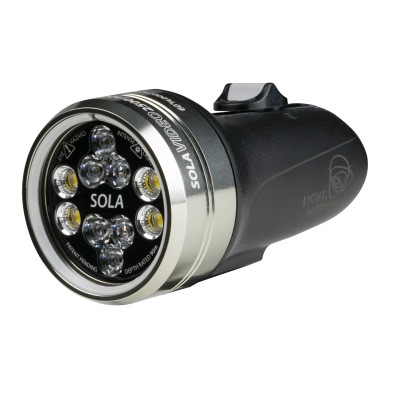 Light and Motion SOLA Video 2500 S/F FC Black (2500 Lumens) Underwater Video Light