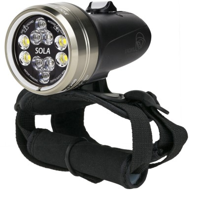 Light and Motion SOLA Dive 2500 S/F FC Black (2500 Lumens) Underwater Video Light