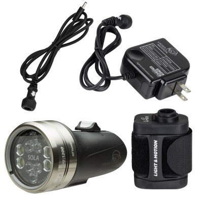 Light and Motion SOLA Dive 2500 S/F FC w/Battery Pack (2500 Lumens) Underwater Video Light