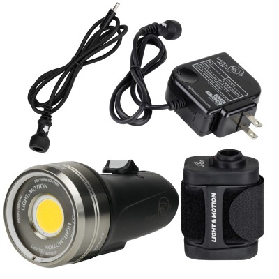 Light and Motion SOLA Video 3800 F FC w/Battery Pack (3800 Lumens) Underwater Video Light