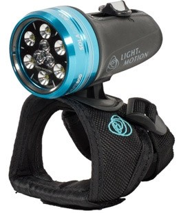Light and Motion SOLA Dive 800- 850-0177 (800 Lumens) Underwater Dive Light