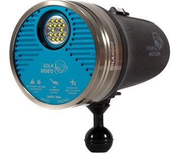 4000 Lumens Underwater Video Light