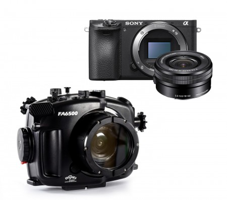 Sony A6500 Underwater Camera w/ 16-50mm Lens and Port