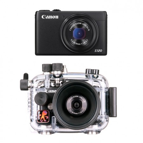 Canon S120 Underwater Camera