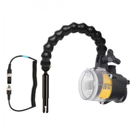 Sea and Sea YS-D2J Strobe -  Mounted on a BTS Locline Arm for Ikelite Handles
