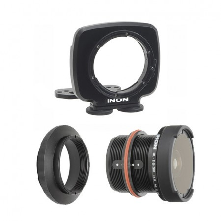 Wide Angle Lens Kit for Canon G7X in WP-DC54 Housing