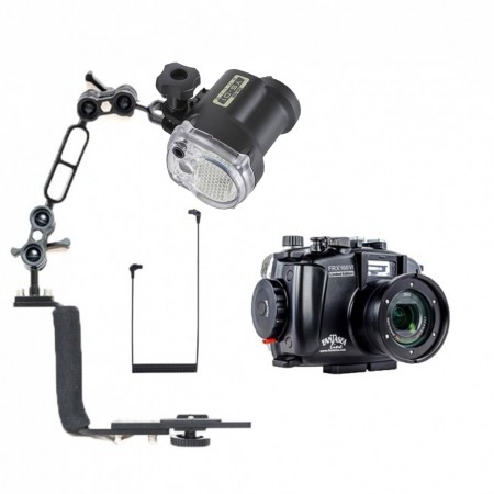 Fantasea FRX100 VI LE Underwater Housing for Sony RX100 VII / VI w/Sea & Sea YS-01 Solis