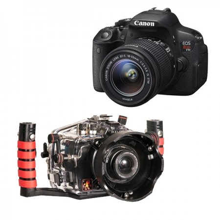 Ikelite Underwater Housing AND Canon EOS 700D