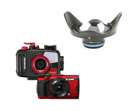 Mozaik Underwater Camera and Housing Bundle MOZ-TG6CAM-KRL02- 01