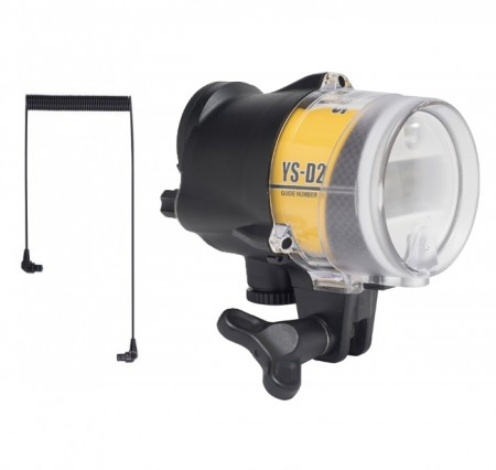 Sea and Sea YS-D2J w/cable Underwater Strobe Flash