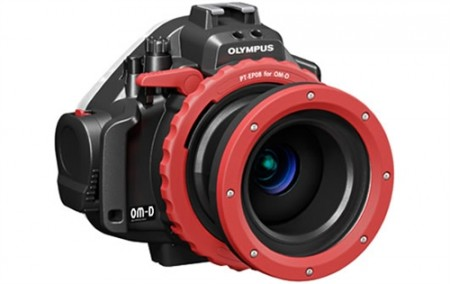 Olympus OM-D E-M5 Underwater Housing with 14-42mm, 9-18mm, 60mm Port
