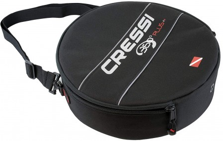 Cressi - Open box - 360 Plus Regulator Bag Black Nylon