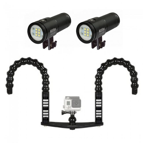 BigBlue VL4200P 4200 Lumen 120/° Beam Dive Video Light