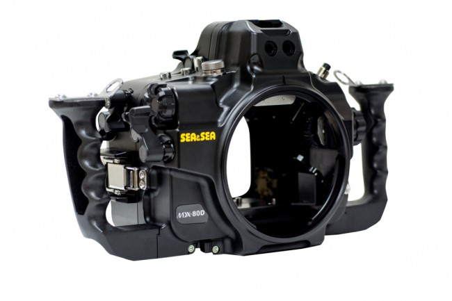 Sea and Sea MDX-80D Underwater DSLR Housing for Canon 80D