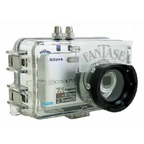 Fantasea 1208 FS-200 FS200 Camera Underwater Housing -- For Nikon Coolpix S200