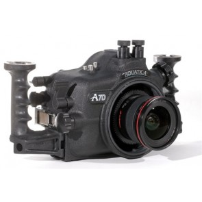 Aquatica 7D Underwater Housing for Canon 7D DSLR Camera with two Bulkhead Connectors