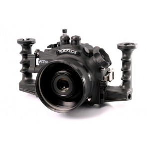 Aquatica T2I / 550D  - Canon T2I / 550D Digital Camera Housing with dual bulkheads