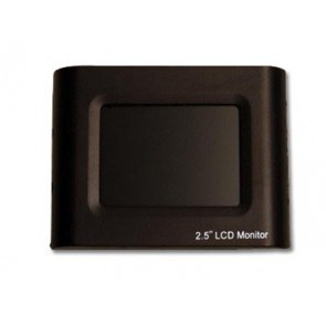"2.5 Inch LCD Monitor for Equinox Underwater Video Housing Mounted Into 10"" Plate"