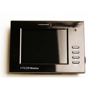 "3.5 Inch LCD Monitor for Equinox Underwater Video Housing Mounted Into 10"" Plate"