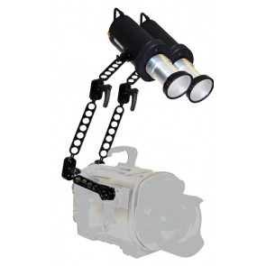 Amphibico Underwater Lights - Discovery G3 Pro 2 x Arc Lamps Travel Kit for ALL Housings