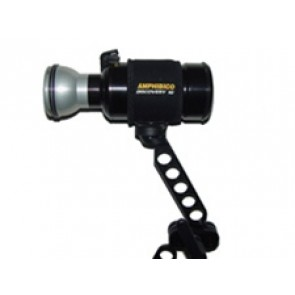 """Amphibico Underwater Video Lights - 10 Watt Discovery HID Aluminium Arc Light with 21 """" Arm Series for ALL Housings"""
