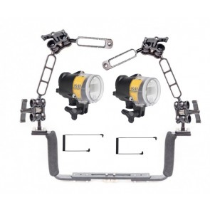 Dual Sea and Sea YS-D2J  Strobe package