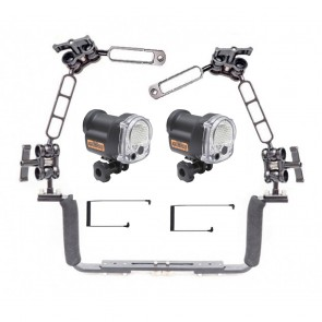 Sea and Sea YS-03 Solis dual strobe package on flex arms