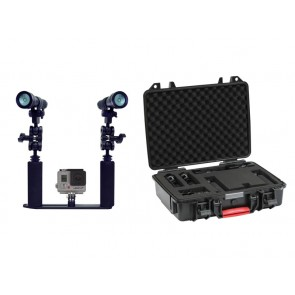 Big Blue AL1200XWP - Big Blue AL1200WP Mounted on a Standard Action Tray Light Set