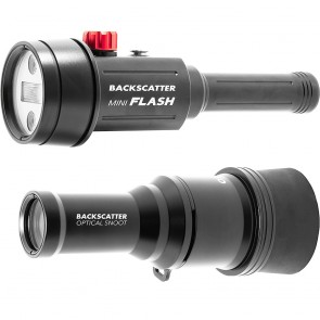 Backscatter MF-1 Underwater Strobe w/ Optical Snoot