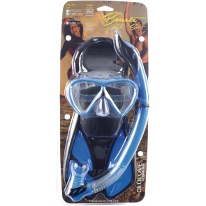 Open Box Cressi - Bonete Bag Snorkeling Set - L / XL - Blue