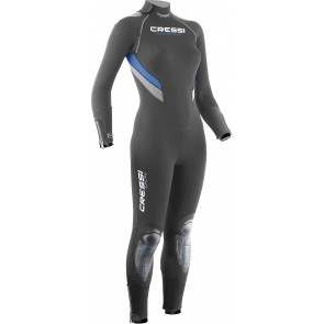 Open Box - Cressi - Castoro Plus Lady 7mm Wetsuit M/3