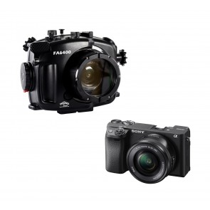 Sony A6400 With 16-50mm Lens AND Fantasea Underwater Housing Bundle