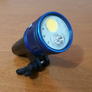 Fantasea Radiant 3000F (3000 Flood / 1000 Spot Lumens) Underwater Video Light