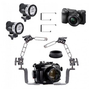Fantasea Underwater Housing Light Bundle FA-FA6400-CAM-KIT2-YSD3- 01