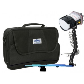 UltraMax UXDS-3 -  Mounted on a Blueray Single Flex Arm Tray Light Set