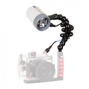 Ikelite DS-51 Strobe -  Mounted on a Ikelite Flex Arm Light Set