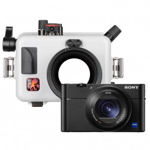 Ikelite  Underwater Housing AND Sony RX100 VI Camera