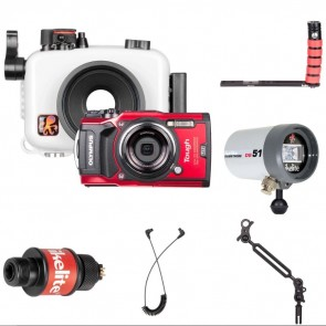 Ikelite 6233.08 Underwater Housing AND Olympus TG-5 Camera