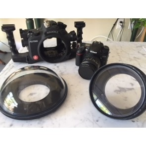 Used Aquatica AD700 Underwater Housing and ports with Nikon D7000 body