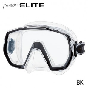 Open Box TUSA - Freedom Elite Dive Mask - Black