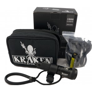 Kraken Hydra 1200 WSR Plus (1000 Lumens) Underwater Video Light