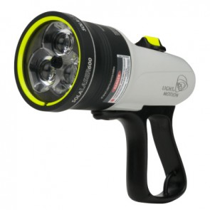 Light and Motion SOLA LASER 600 FC- 850-0273-A (600 Lumens) Underwater Dive Light