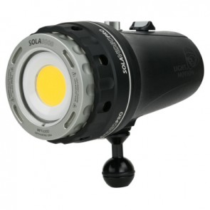 Light and Motion SOLA Video Pro 9600 FC Black (9600 Lumens) Underwater Video Light