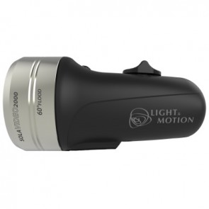 Light and Motion SOLA Video 2000 F Black (2000 Lumens) Underwater Video Light