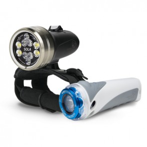 Light and Motion Sola 2500 S/F Combo Kit (2500 Lumens) Underwater Video Light