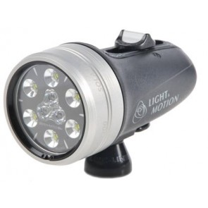 Light and Motion SOLA Video 1200 S/F Black (1200 Lumens) Underwater Video Light