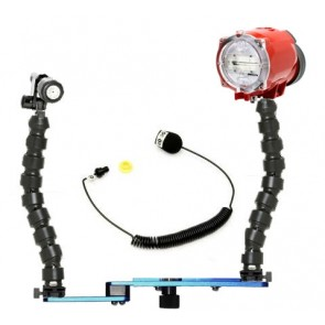 Underwater Strobe Inon S-2000 and Fantasea Blueray Tray Flex Package