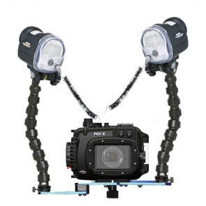Fantasea FG7X Underwater Housing for Canon G7X w/Dual S&S YS-01 Strobes